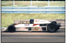 McLaren-Ford M23 German GP (Lunger)