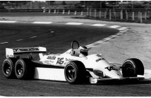 Williams-Ford FW07D Test 1981