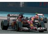 Ferrari F14-T Abu Dhabi GP (Alonso-Räikkönen)