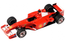 Ferrari F2001 Malaysian GP (Schumacher-Barrichello)