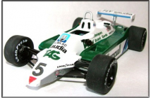 Williams-Ford FW07C  South Africa GP (Reutemann-Rosberg)