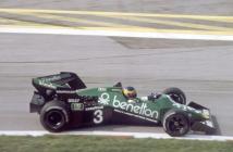 Tyrrell-Ford 012 Austrian GP-Dutch GP (Alboreto-Sullivan)