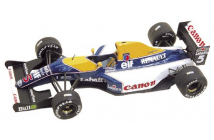 Williams-Renault FW14B South African GP 1992 (Mansell-Patrese)