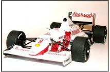 Footwork-Porsche FA11C Brasilian GP 1991 (Alboreto-Caffi)