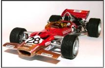 Lotus-Ford 49C British GP 1970 (Fittipaldi)