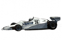 Arrows-Ford FA1 Brazilian GP (Patrese)