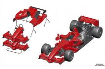 Ferrari F2007 Brasilian GP (Räikkönen-Massa)