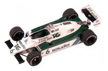 Williams-Ford FW08 Swiss GP (Daly-Rosberg)
