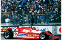 Ferrari 126CX Practice Long Beach GP (Villeneuve)