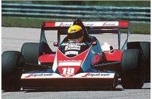 Toleman-Hart TG 183B Brazilian GP (Senna-Cecotto)