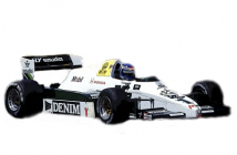 Williams-Honda FW09 South African GP (Rosberg-Laffite)