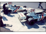 Hesketh Ford 308B USA GP (Hunt+Lunger)