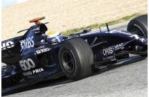 Williams-Toyota FW29B Test 2008 (Rosberg-Nakajima)
