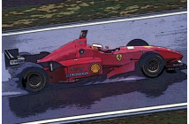 Ferrari F310 Spanish GP (Schumacher-Irvine)