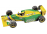 Benetton-Ford B193A South African GP (Schumacher-Patrese)