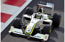 Brawn GP-Mercedes BGP001 Abu Dhabi GP 2009 (Button-Barrichello)