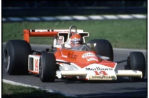 McLaren-Ford M23 Italian GP (Giacomelli)