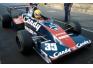 Toleman-Hart TG 183B Test Silverstone (Senna)