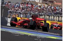 Ferrari F2008 European GP (Räikkönen-Massa)