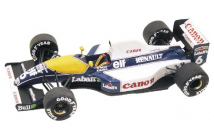 Williams-Renault FW14 Brasilian GP (Mansell-Patrese)