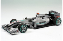 Mercedes GP MGP W01 Malaysian GP (Schumacher-Rosberg)