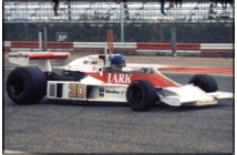 McLaren-Ford M23 French GP (Lunger)
