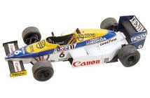 Williams-Honda FW10 Monaco GP 1985 (Mansell-Rosberg)