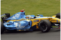 Renault R26 Canadian GP (Alonso-Fisichella)